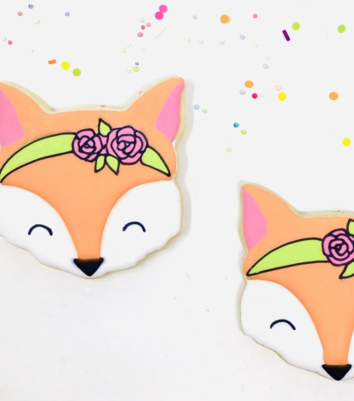 Vegan Fox Cookies