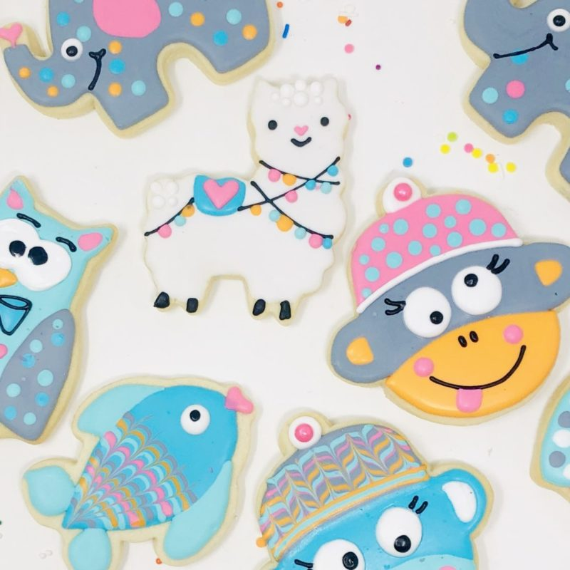 My Little Cookie Class for 2 'Funny Animals'