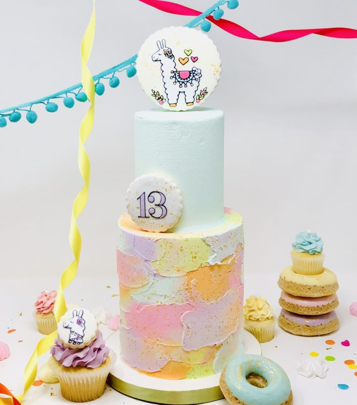 Llama Luxe Cakes
