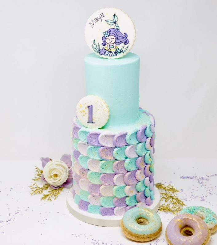 Mermaid Luxe Cakes