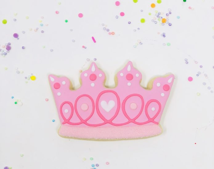 Vegan Princess Cookies