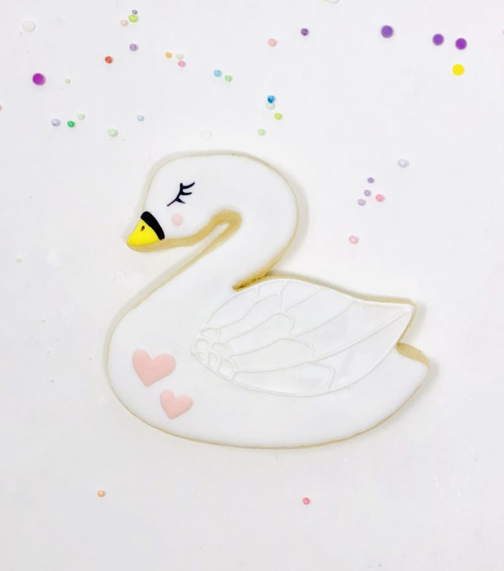 Vegan Swan Cookies