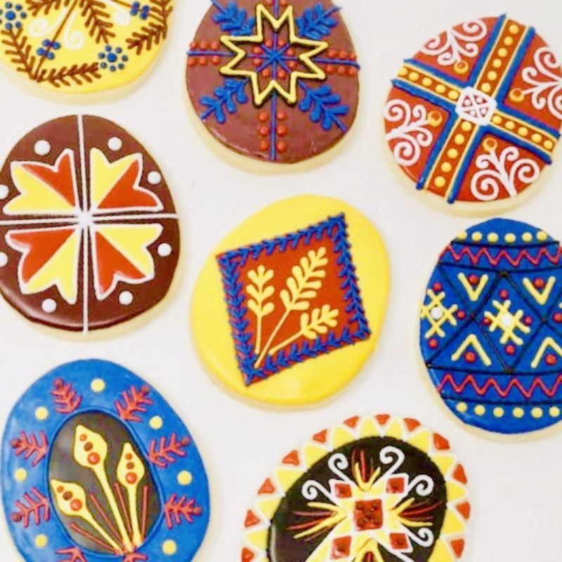Cookie Decorating Class 'Ukrainian Easter'