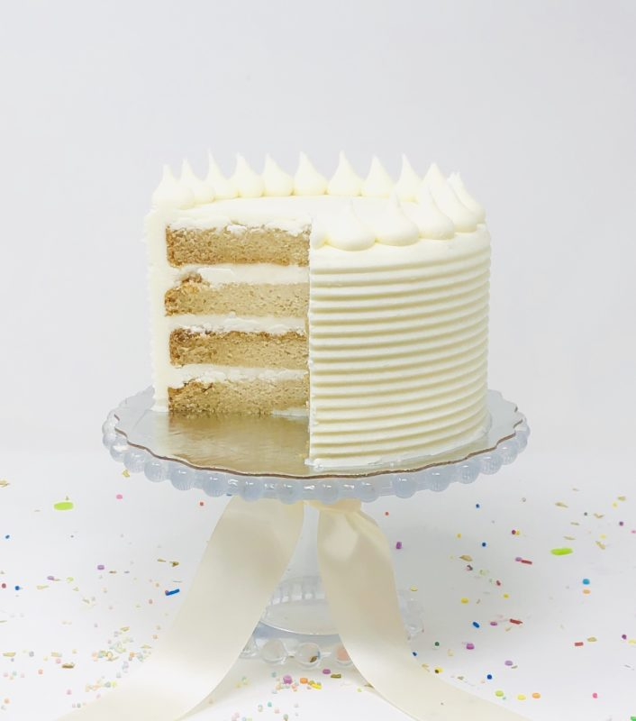 Vegan Vanilla Cakes