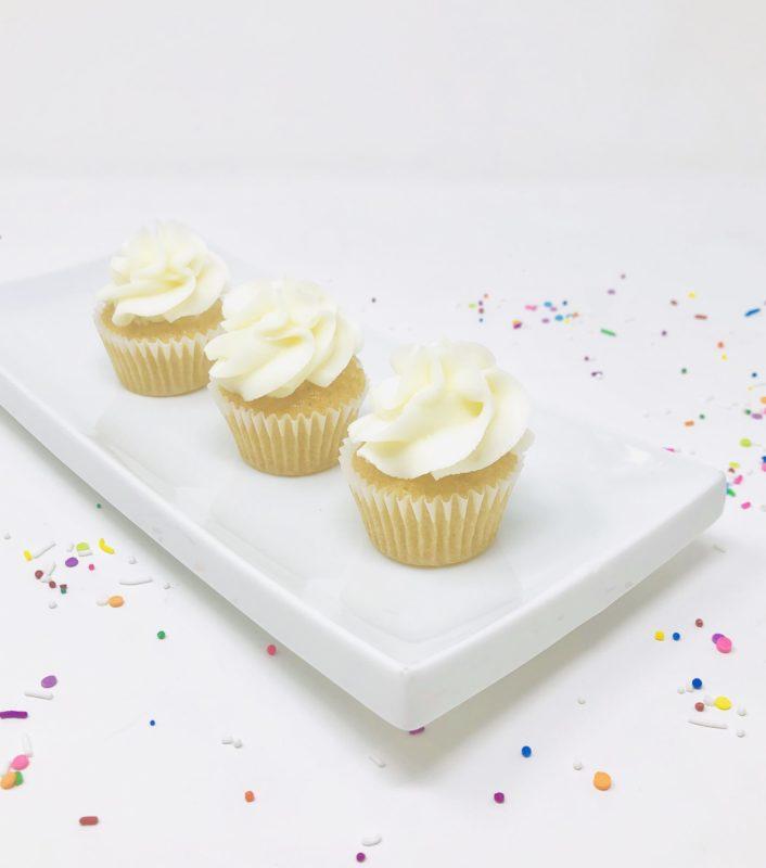 Vegan Vanilla Mini Cupcakes