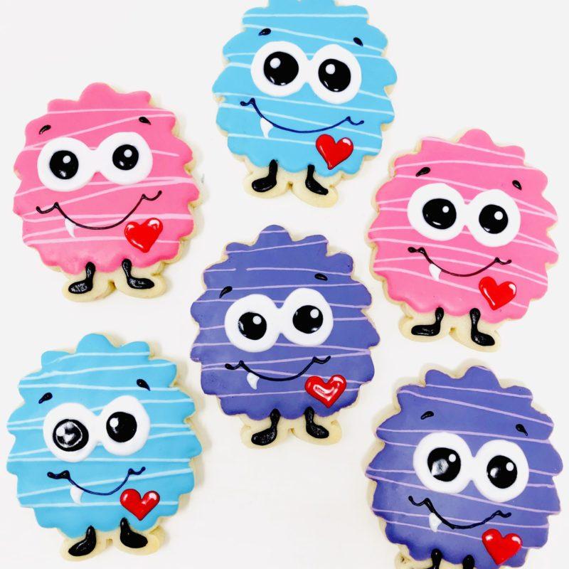 Vegan My Little Valentine Cookies