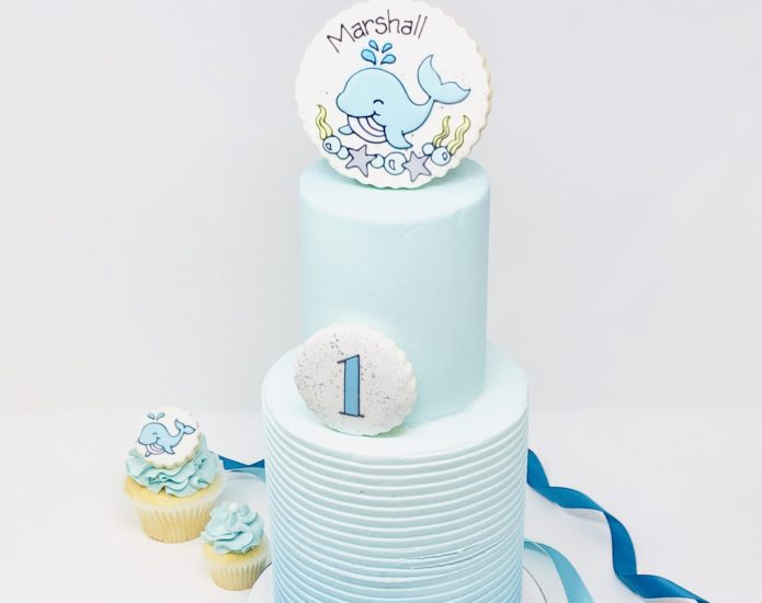 Whale Luxe Cakes