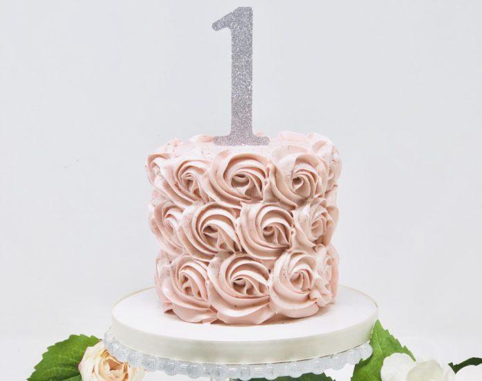 Rosette Smash Cakes
