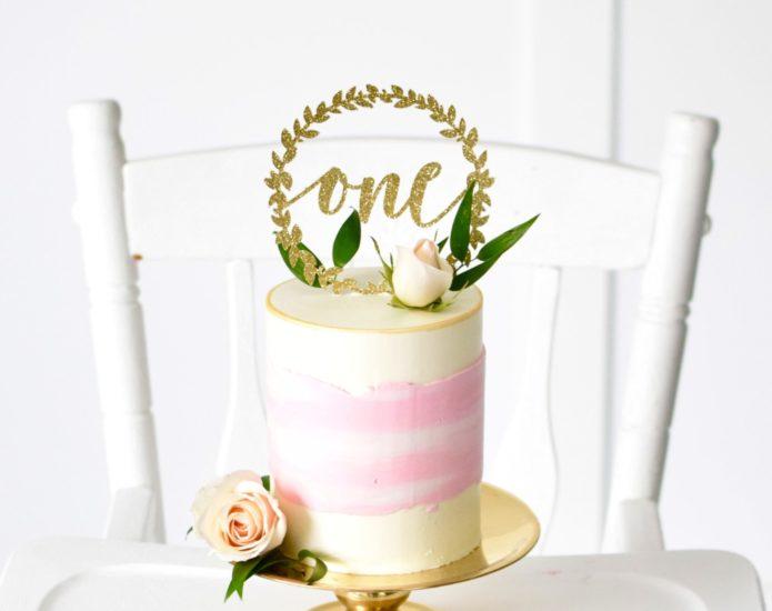 Luxe Watercolour Smash Cakes