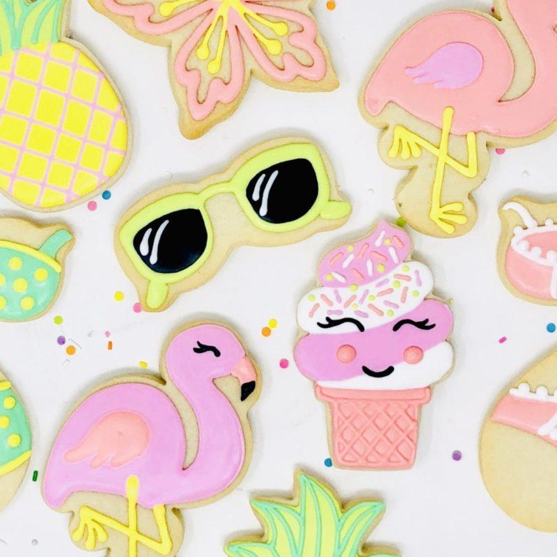 Cookie Decorating Class 'Summer Aloha'