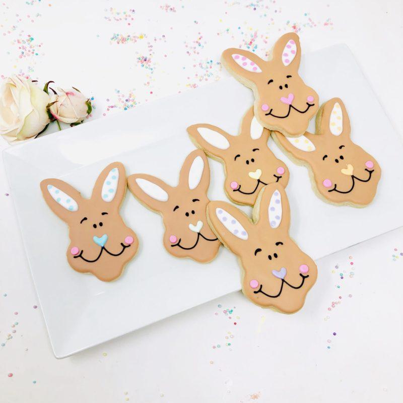 Vegan Easter Bunny Cookies
