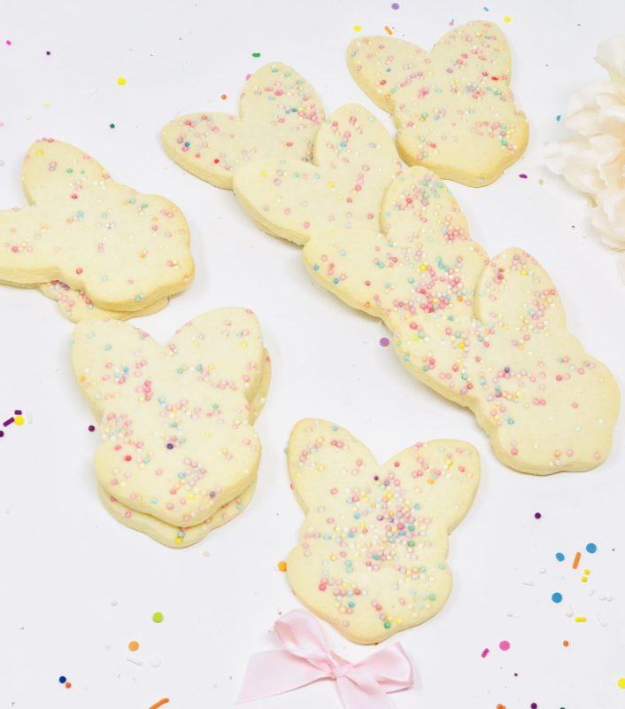 VEGAN Easter Sprinkle Cookies (10)