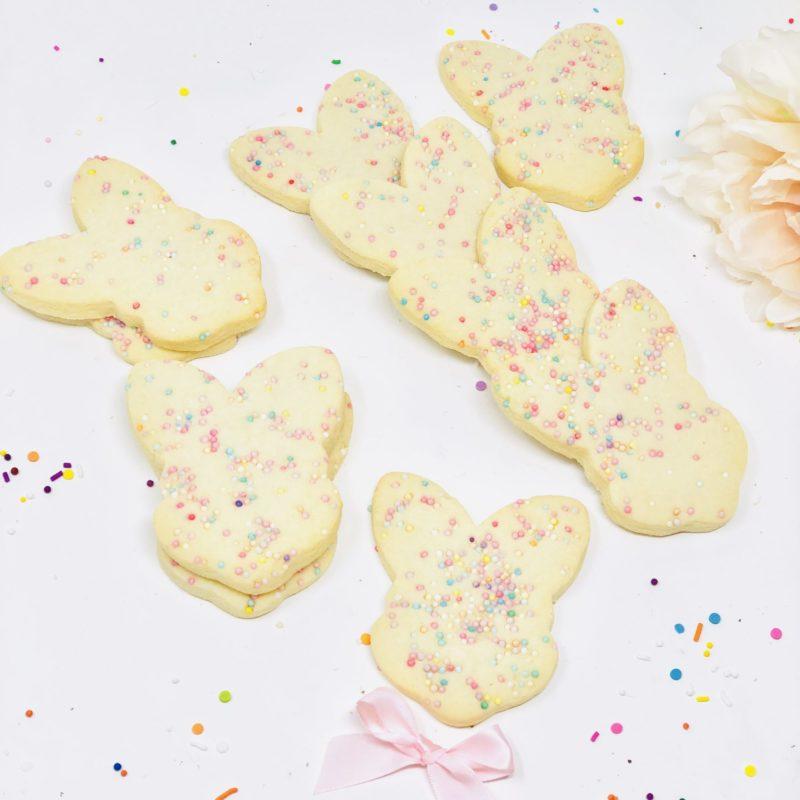 Vegan Easter Sprinkle Cookies
