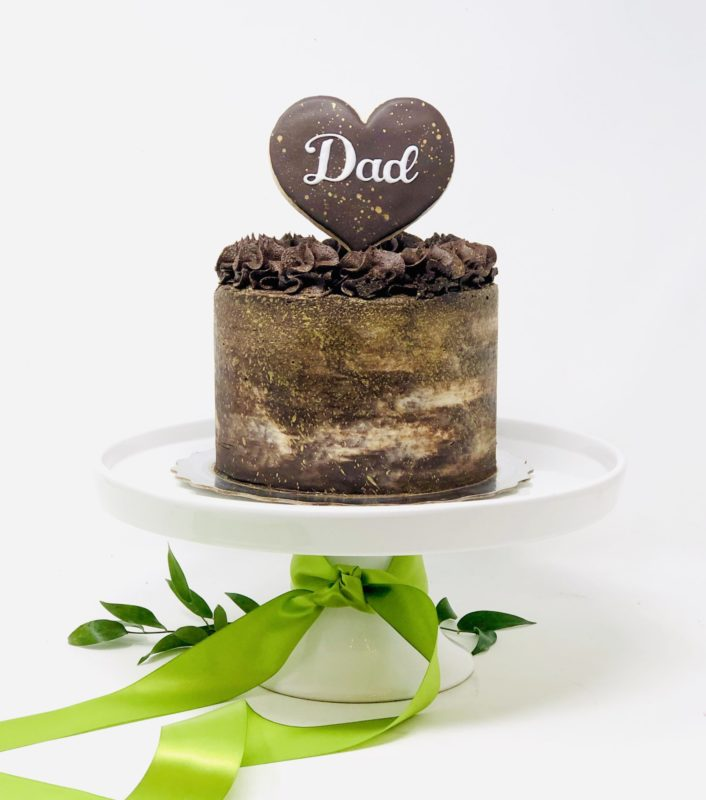 Father's Day Cake - Triple Chocolate