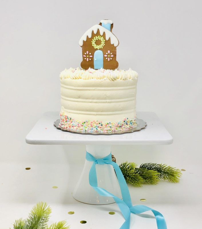 Gingerbread Holiday Cake