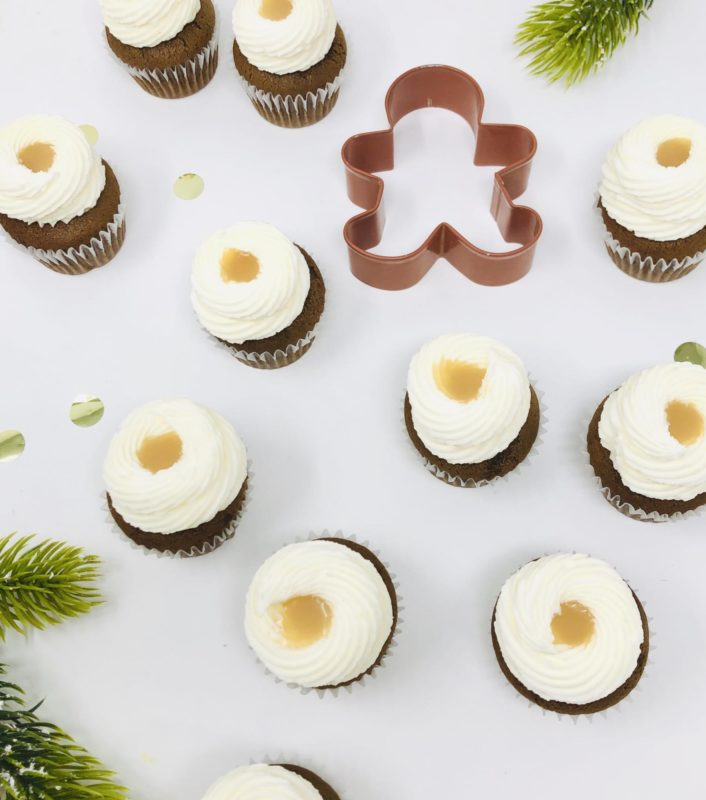 Gingerbread Mini Cupcakes