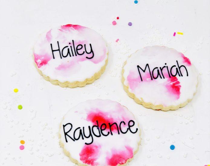 Classic Pink Mini Cookies