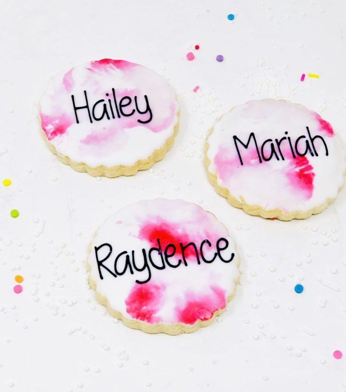 Pink Mini Cookies