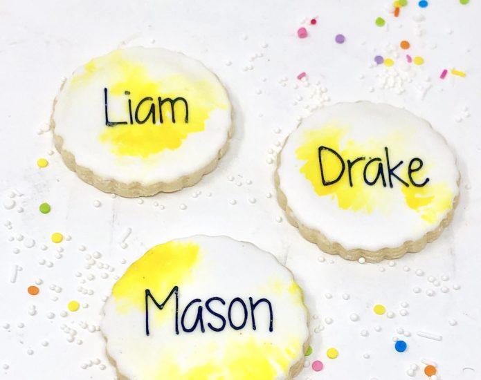 Classic Yellow Mini Cookies