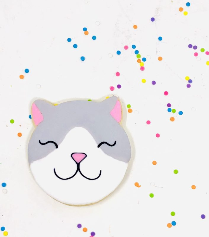 Vegan Kitty Cookies