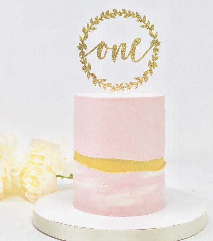 Luxe Halo Smash Cakes