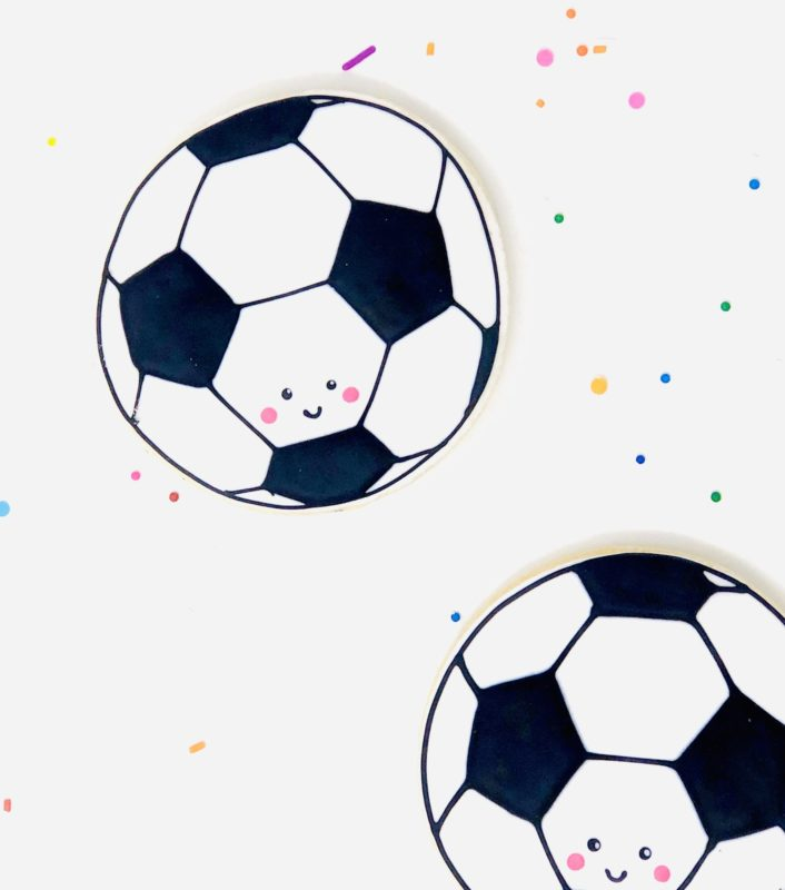Classic Soccer Cookies