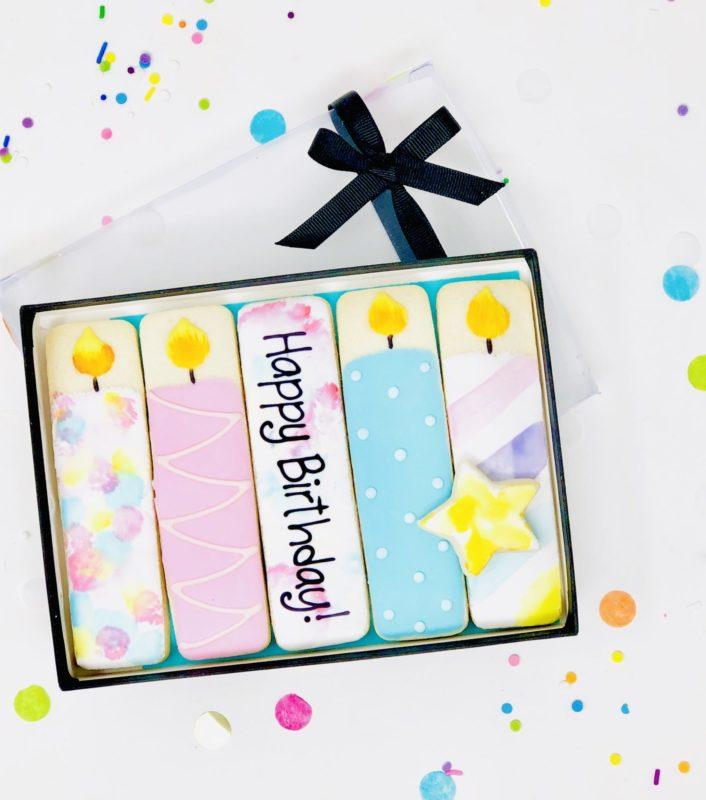 Happy Birthday Cookie Set