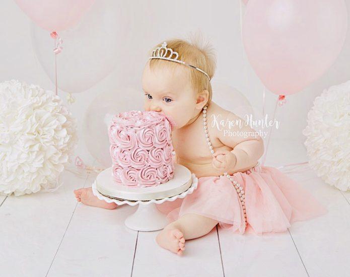 Luxe Rosette Smash Cakes