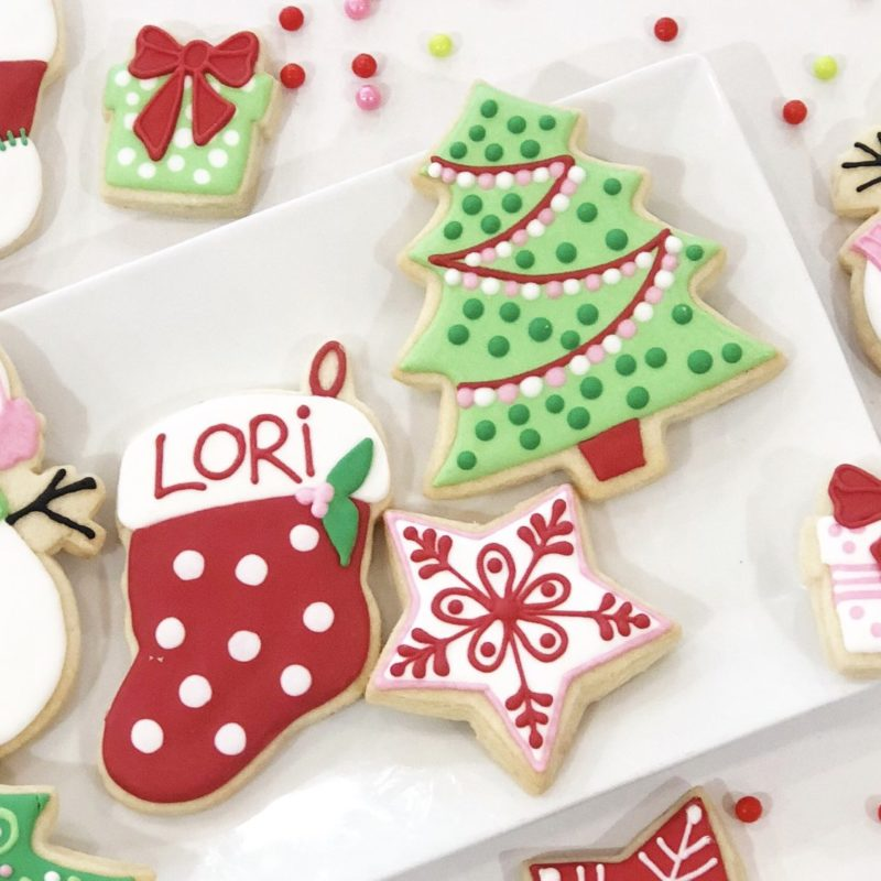 My Little Cookie Class for 2 'Christmas'