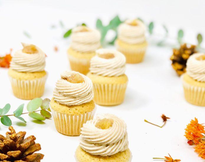 Apple Harvest Mini Cupcakes