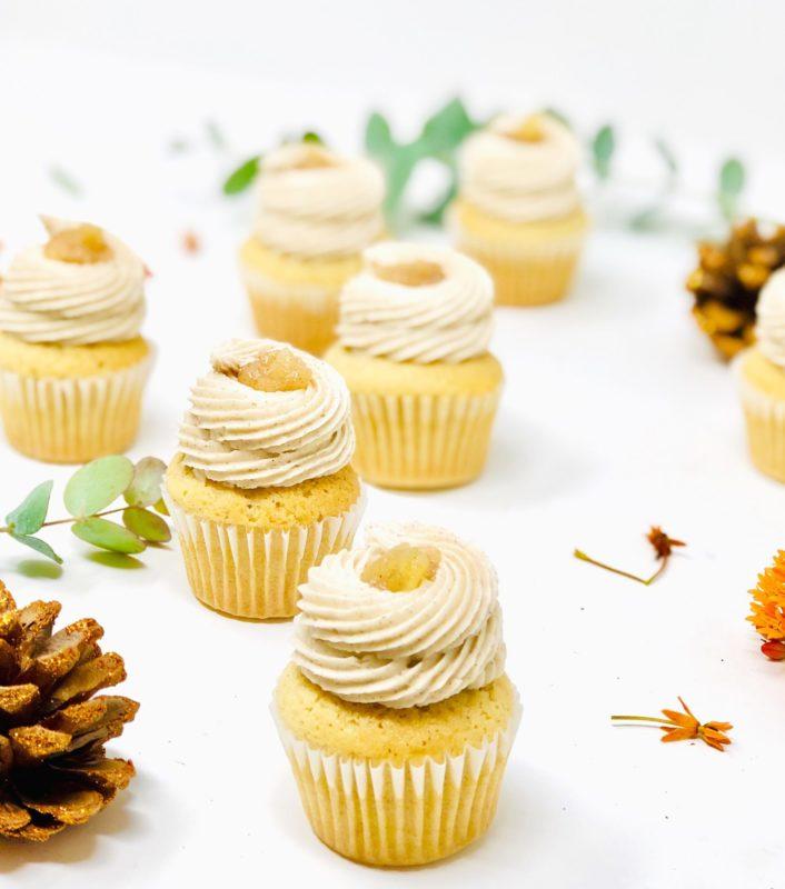 Apple Cinnamon Mini Cupcakes