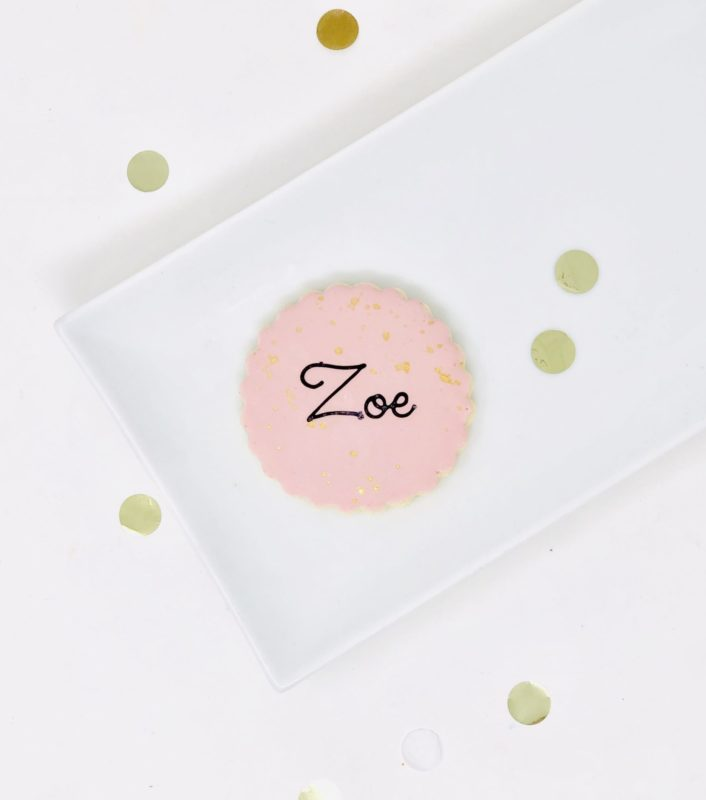 Luxe Blush Mini Cookies