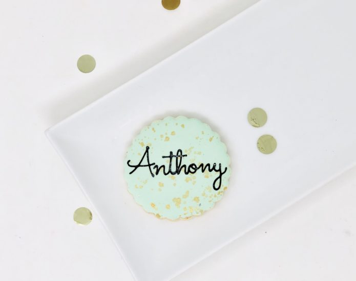 Luxe Green Mini Cookies