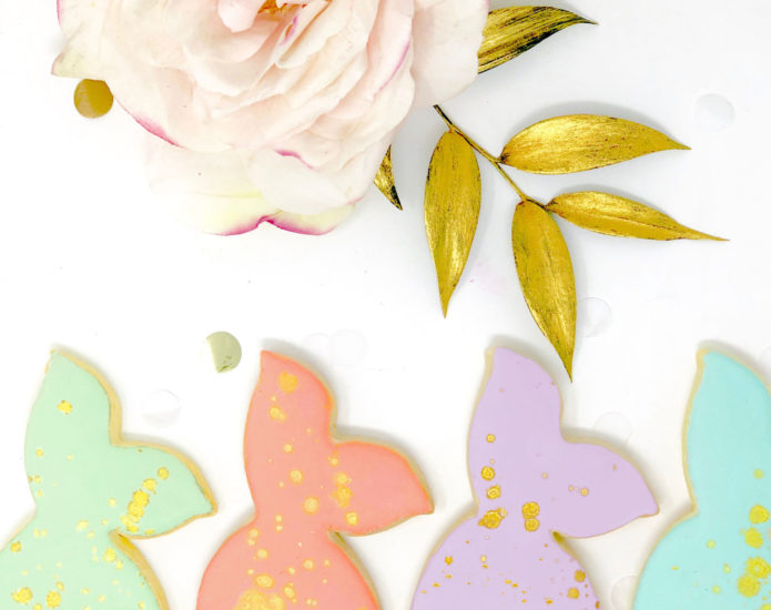 Vegan Personalized Mermaid Cookies