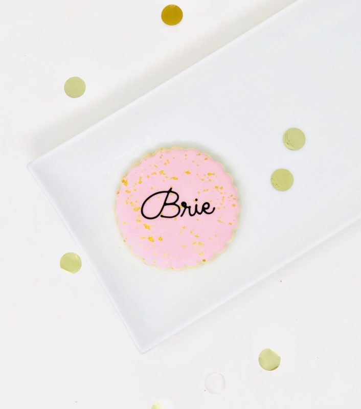 Luxe Pink Mini Cookies