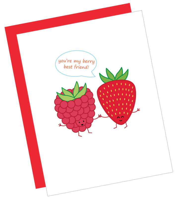 Berry Best Friend Card