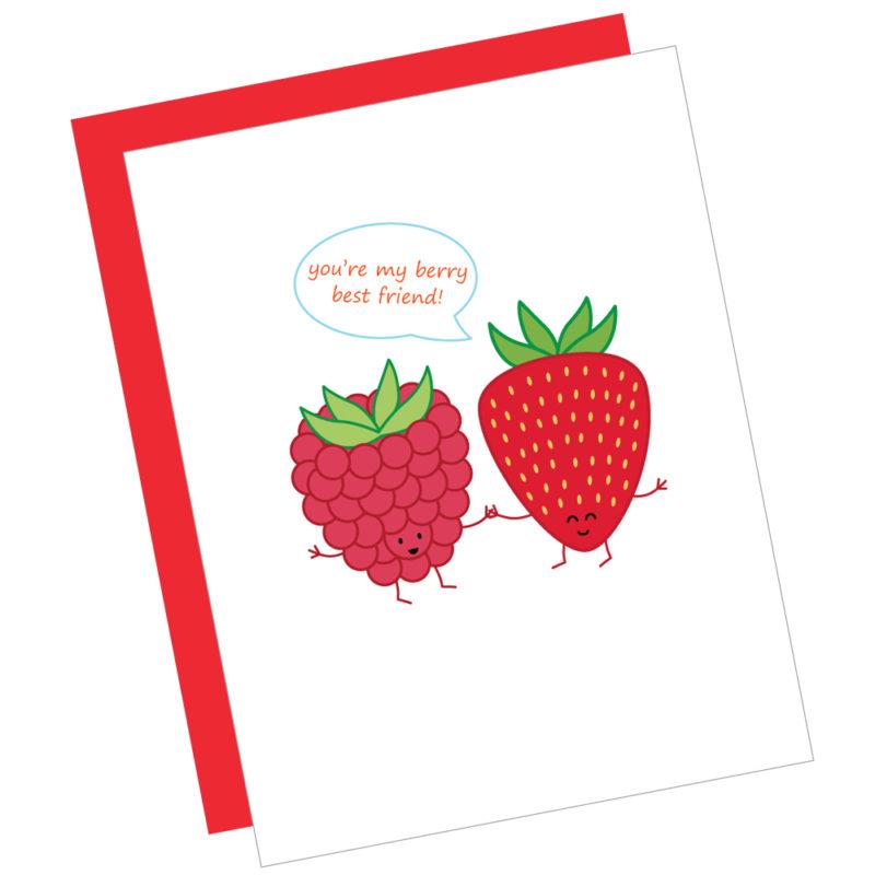 Berry Best Friend Card