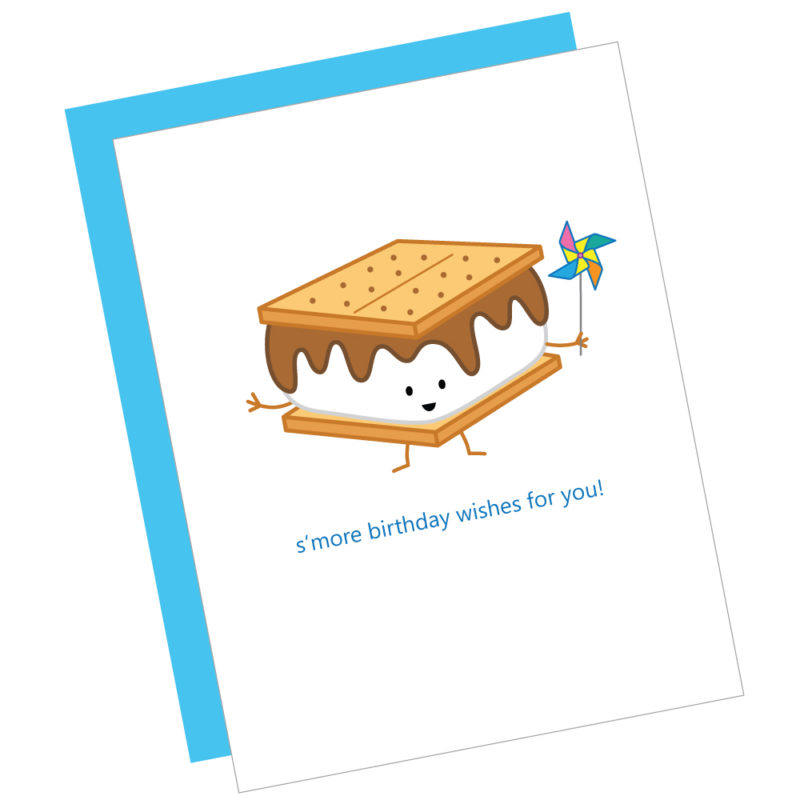 S'more Birthday Wishes Card