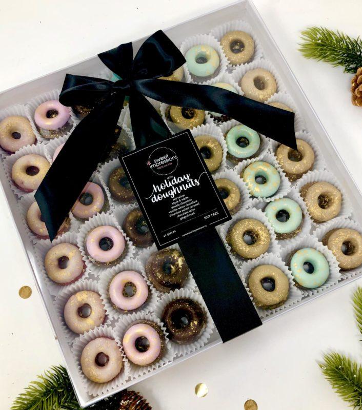 Holiday Mini Doughnuts