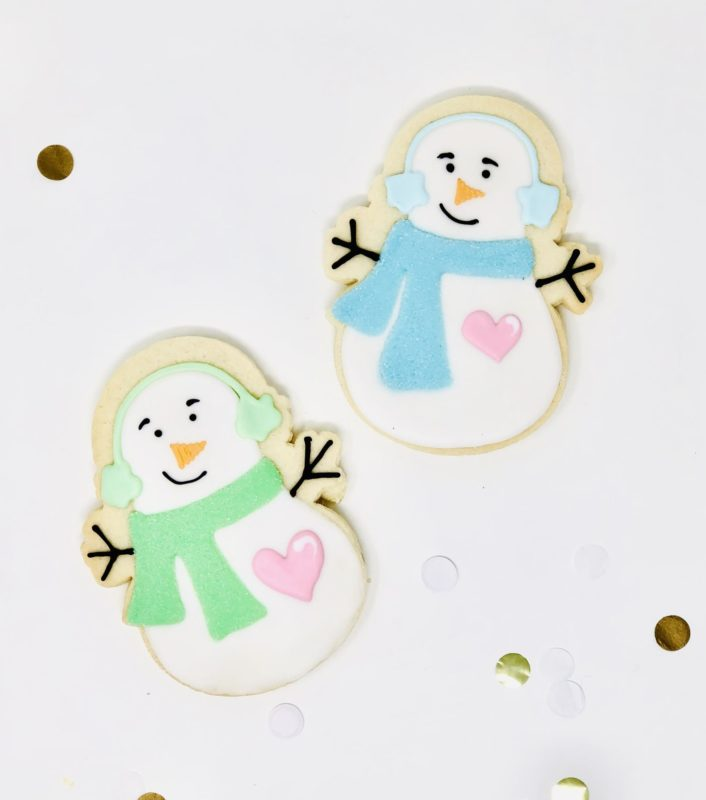 Snowman Cookies (6)