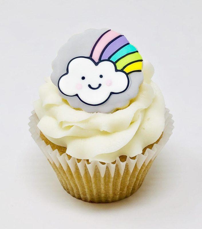 Vegan Rainbow Cupcakes