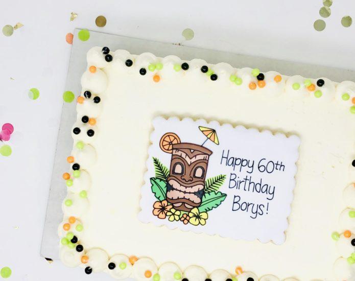 Mini Slab Custom Cakes