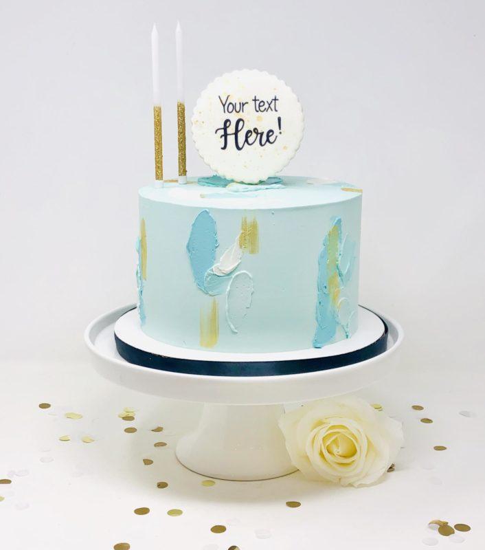Luxe Artsy Cakes