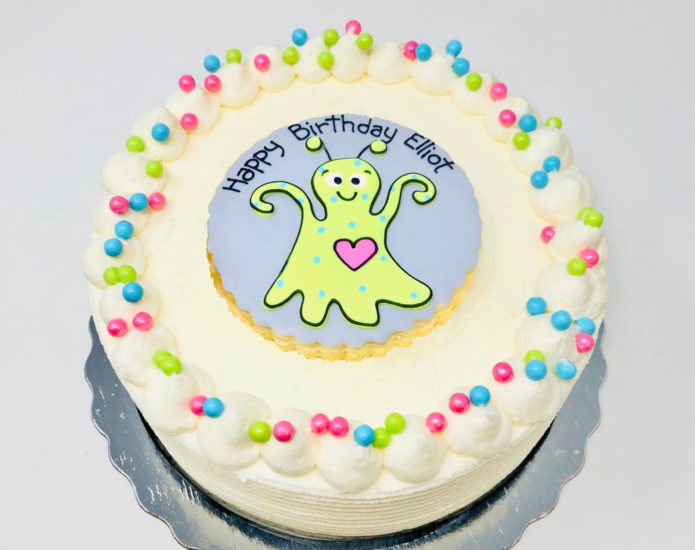 Vegan Alien Cakes