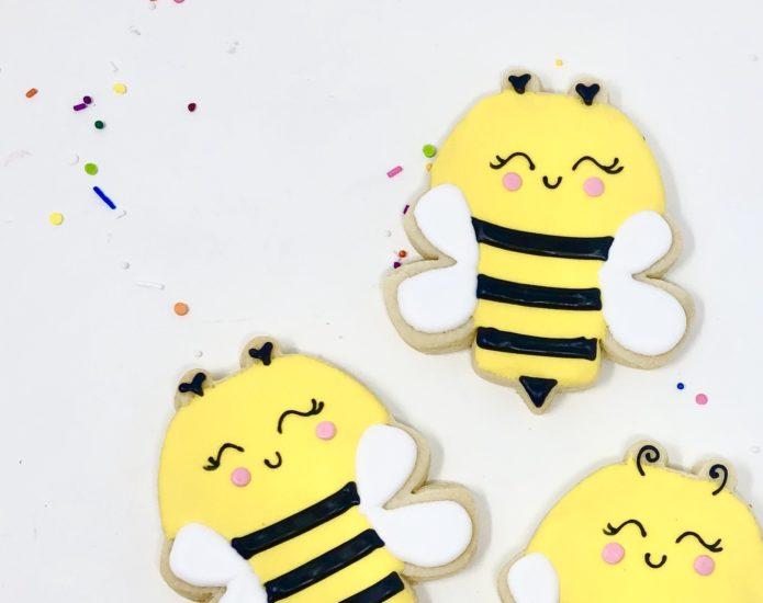 Classic Bumblebee Cookies