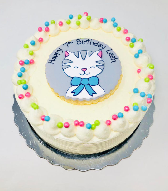 Vegan Kitty Cakes