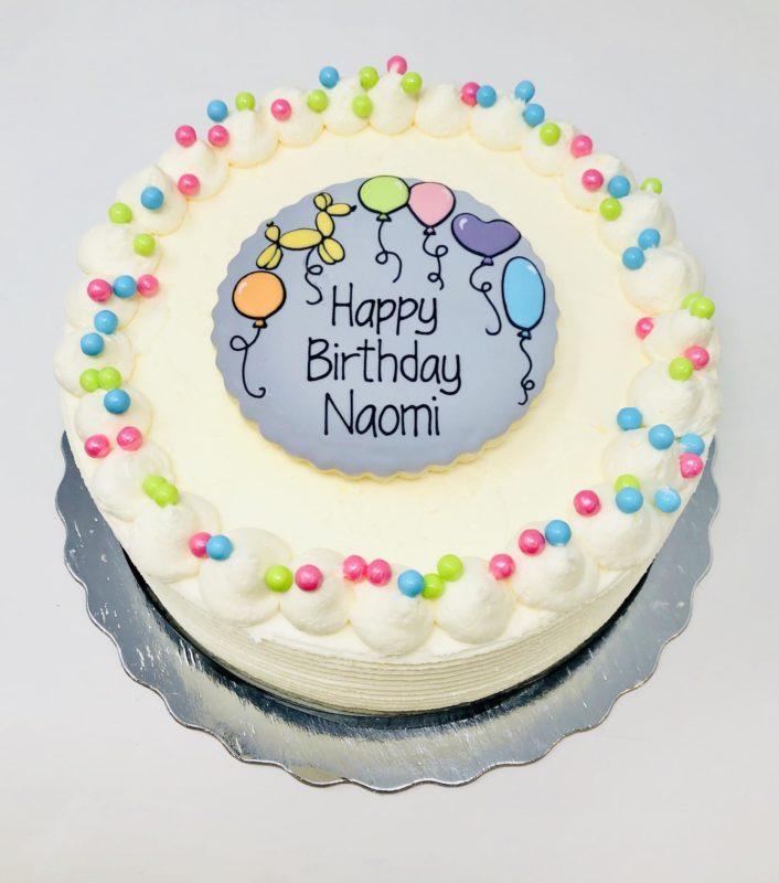 Vegan Balloon Cakes
