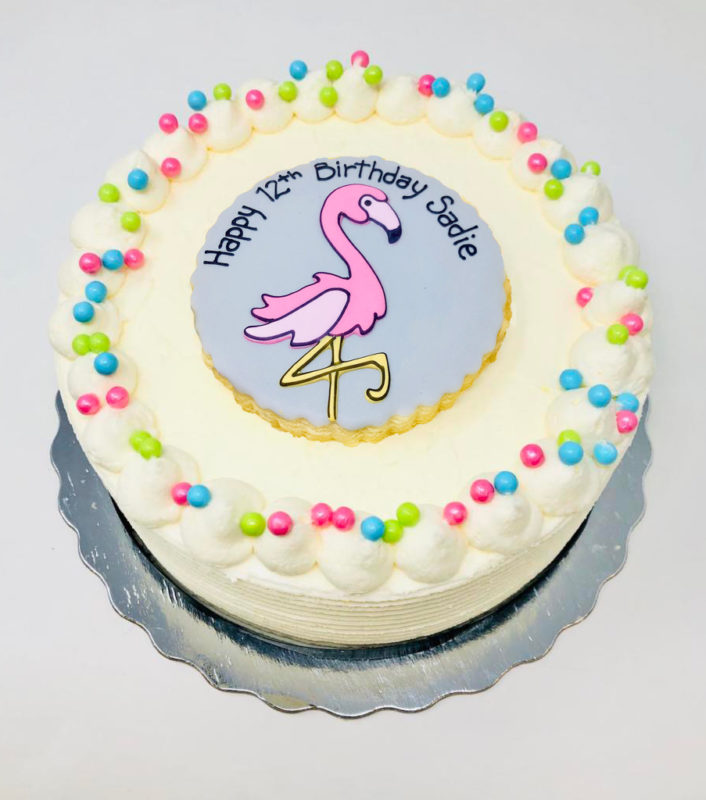 Vegan Flamingo Cakes