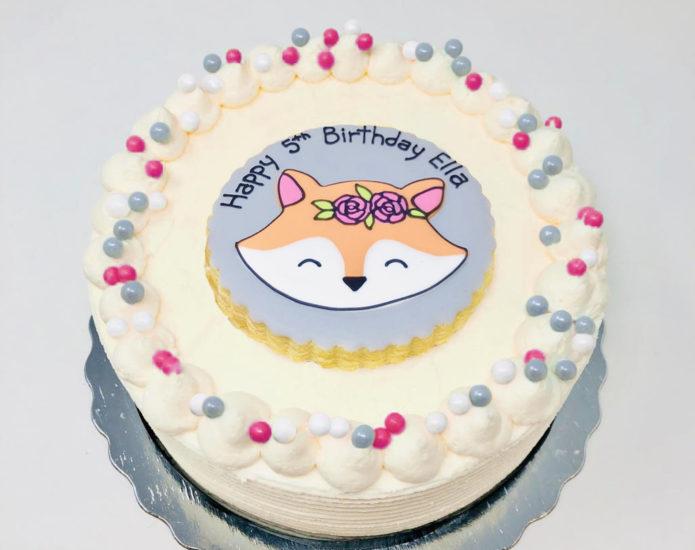 Vegan Fox Cakes