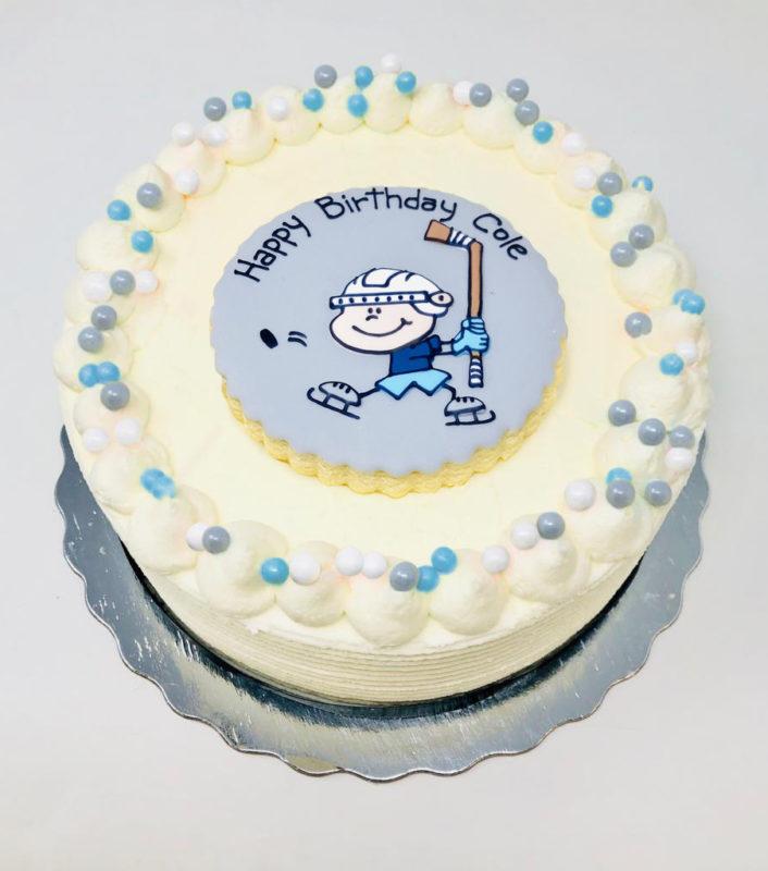 Vegan Hockey Cakes
